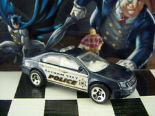 '15 HOT WHEELS FORD FUSION GOTHAM CITY POLICE LOOSE 1:64 SCALE BATMAN SERIES