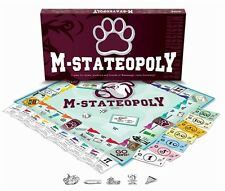 Collectible M StateOpoly M-State Opoly Mississippi State University Monopoly NIB