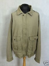 Vintage Levis Blanket Lined Canvas Jacket Beige Size XL. P187