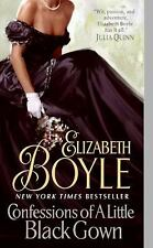 Confessions of a Little Black Gown by Elizabeth Boyle (2009, Paperback)