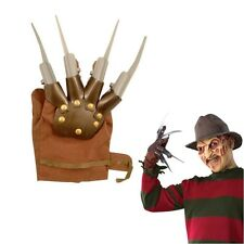 PLASTIC KNIFE FINGER GLOVE FREDDY KRUEGER NIGHTMARE ELM ST FANCY DRESS HALLOWEEN