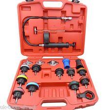 18pc Radiator Pressure Tester Universal Tool Kit Cooling System Test Detector