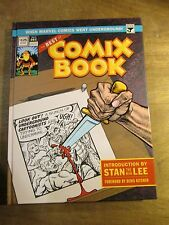BEST OF COMIX BOOK, STAN LEE DENIS KITCHEN SIGNED limited run 1st Printing RARE