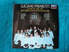 "LUCIANO PAVAROTTI ""O HOLY NIGHT "" KURT HERBERT ADLER US copy LONDON OS 26473 ~NM"