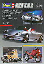 Catalogo modellini di auto REVELL METAL 1994 1995 catalog Model Car brochure prospetto