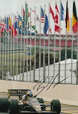 Bruno Senna Hand Signed 12x8 Photo Formula 1 F1.