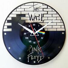 Handcraft Vinyl Record Hanging Pink Floyd Wall Clock Home Decor Rock Patch Metal