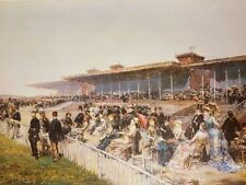 The Races at Longhampton Paris by Ludovico Marchetti Artwork by Selby Prints