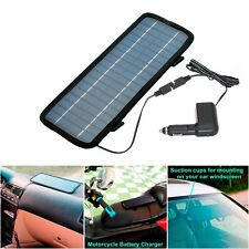 4.5W Watt 12V Car Battery Charger Solar Power Panel+Cigarette adapter with cord