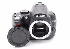 NIKON D5000 12.3MP 2.7''SCREEN DIGITAL SLR CAMERA BODY - SHUTTER COUNT 4970