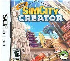 Simcity Creator Nintendo DS RATED E for KIDS EVERYONE VERY CLEAN