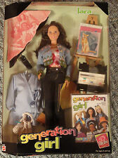 Mattel Barbie Generation Girl Lara 20968 Artist NRFB 1998 6+ Easel Paint Set