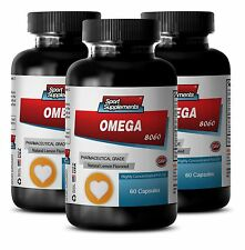 Fish Oil For Dogs - Omega-3-6-9 8060 3000mg - Healthy Pet Softgels 3B
