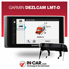 NEW Garmin DezlCam LMT-D Truck GPS Sat Nav HGV Lifetime Map and Traffic Updates