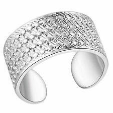 Male Female 925 Silver Ring New - simple jewelry rings adjustable