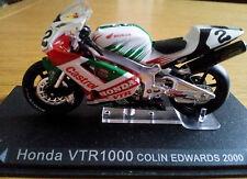 Ixo 1:24 Motorbike Honda VTR 1000 Colin Edwards 2000 - Rare