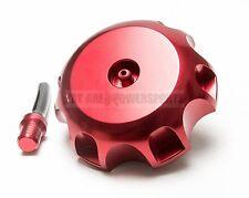 New Red Billet Aluminum Gas Cap & Vent Hose Honda