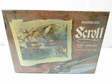 Vintage WADDINGTONS Battle of the First of June 1794 Scroll Jigsaw Puzzle SEALED