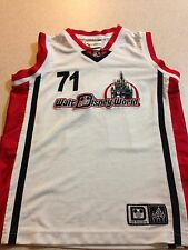 Walt Disney World Equipment #71 Basketball Sports Jersey Mickey Sz. YOUTH SMALL