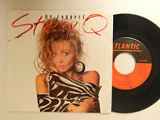 Stacey Q. 45 w/ps WE CONNECT / DON'T BREAK MY HEART ~ Atlantic VG++pop.dance