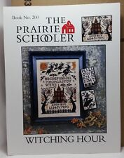 Witching Hour Prairie Schooler Cross Stitch Pattern Cardstock OOP BK 200 New
