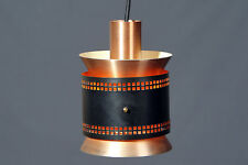 Lampe suspension vintage retro style Carl Thore fog et morup 60's