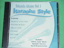Yolanda Adams~#1~Christian~Daywind~Karaoke Style ~ I'm Gonna Be Ready ~ CD+G~New