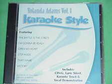 Yolanda Adams~#1~Christian~Daywind~Karaoke Style ~ I'm Gonna Be Ready ~ CD+G~New