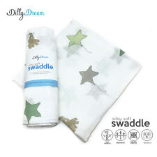 Star SilkySoft Swaddle Bamboo Blankets - ON 30% SALE