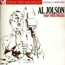 Al Jolson - Snap Your Fingers - from the Archives [New CD] Manufactured On Deman
