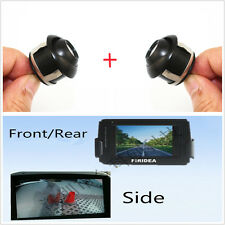 2 Pcs 360° Rotatable Car Front/Rear/Side Reverse Backup MINI Camera Waterproof
