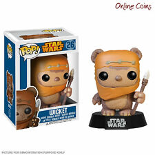 STAR WARS - EWOK WICKET - FUNKO POP VINYL FIGURE - NEW IN BOX!