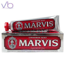 MARVIS Toothpaste Cinnamon Mint - Red, Whitening, Made in Italy, Fluoride Free