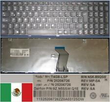 Clavier Qwerty Latino LENOVO Ideapad Z580 V580 NSK-B5QSW T4G8-LSP 9Z.N5SSW.Q1E