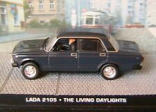 LADA 2105 THE LIVING DAYLIGHTS JAMES BOND 007 1/43 UNIVERSAL HOBBIES ATLAS