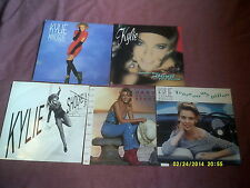 """KYLIE MINOGUE 5x7"""" SINGLES BETTER THE DEVIL YOU KNOW,TEARS ON MY PILLOW etc"""