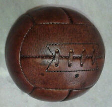 WC 1950, Vintage Style GENUINE LEATHER Soccer ball, 12 Panels, SIZE 3.