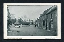 C1910 View of Farnham Royal Village, near Slough, Buckinghamshire.