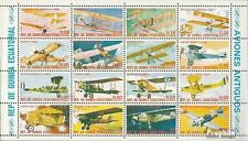 Äquatorial-Guinea 1598-M 1600 Kleinbogen (kompl. Ausg.) gestempelt 1979 Flugzeug