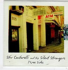 (FG822) Stiv Cantarelli & The Silent Strangers, Three Sides - DJ CD