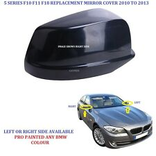 BMW 5 SERIES GENUINE OE Wing Mirror Cover PAINTED ANY BMW Colour F10 F11 F18