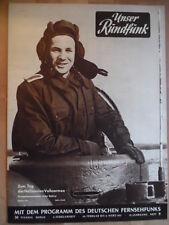 UNSER RUNDFUNK 9 - 1957 Pr: 24.2. - 2.3. Panzerkommandant Tag der NVA FF DABEI
