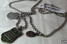 American Eagle Outfitters 3 tag necklace