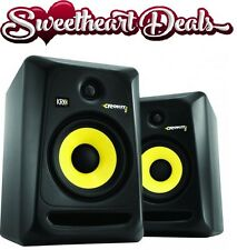 "NEW KRK Rokit 6 Generation 3 Powered Studio Monitor PAIR ROKIT6G3 6"" Speaker"