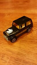 1970's Yatming Jeep CJ-7 #1603 - Black W/  Horse Head Tampo Loose 1/64 hong kong