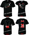 Mickey and Minnie Soul Mate Disney Couple matching funny cute T-Shirts S-4XL