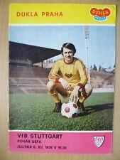 1978 UEFA CUP - DUKLA PRAHA v VFB STUTTGART