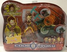 CODE LYOKO. Ulrich and superbike. Illuminated headlight and launcher. Rarity