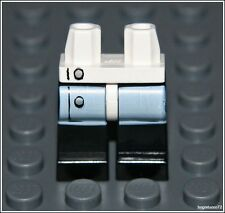 Lego City x1 White Lab Coat Buttons Legs Hospital Doctor Surgeon Minifigure NEW