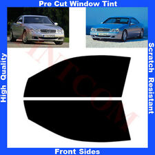 Pre Cut Window Tint Mercedes CL W215 Coupe 2D 1999-2006 Front Sides AnyShade